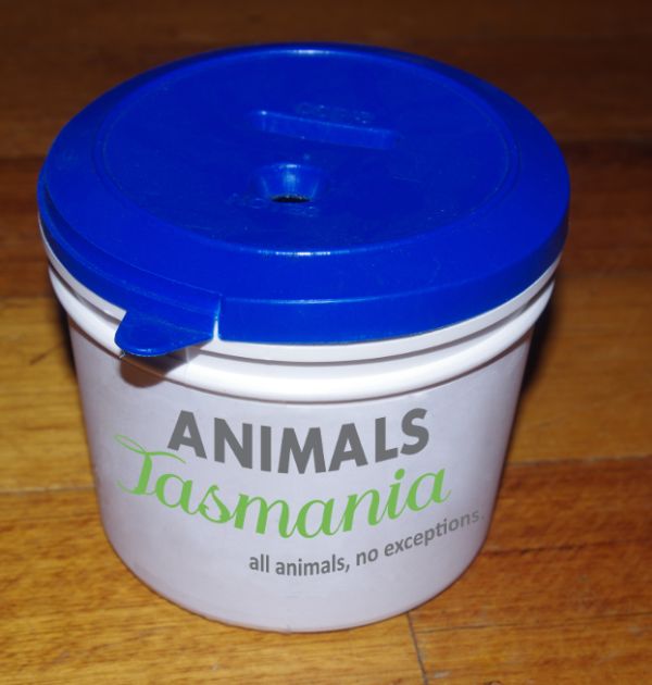 Animals Tasmania Tin Shake